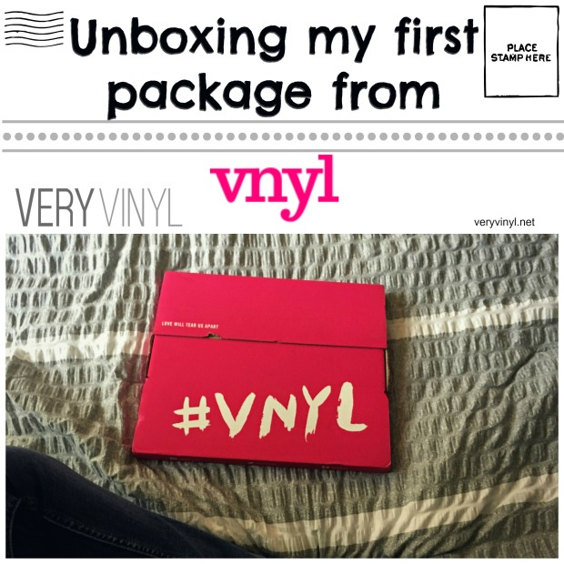 Unboxing-package-from-VNYL